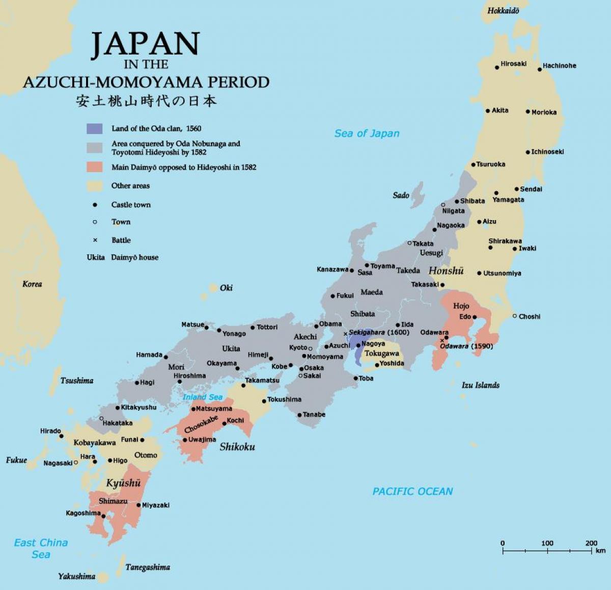 Japan Karte.Mittelalterliche Karte Von Japan Karte Im Mittelalterlichen Japan